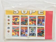 Superheroes Limited Edition Stamps International Collector's Society numbered