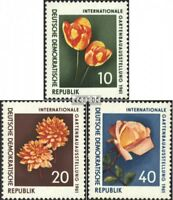 DDR 854-856 (kompl.Ausgabe) postfrisch 1961 Gartenausstellung