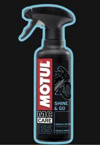 MOTul E5 Shine & Go Kunststoffpflege Kunststoffreinger Hochglanzpflege
