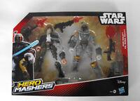 Star Wars Disney Hero Mashers Han Solo Boba Fett PVC Figuren Lucas Film NEU