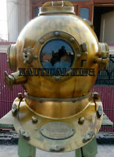 "Antique Morse 18"" Scuba Divers Diving Helmet Us Navy Mark Deep Sea Marine Diver"