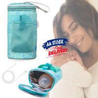 Baby Bottle Warmer Bag Travel Pouch Thermostat Milk Feeding Heater Portable USB