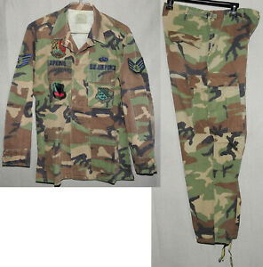 USAF Woodland Camouflage Temperate Cold Weather BDU 1980-90s
