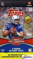2012 Topps Football EXCLUSIVE Factory Sealed Blaster Box-PATCH RELIC Card!