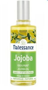 Natessance Regenerating Oil Jojoba 50 Ml 100% Pure Jojoba Oil
