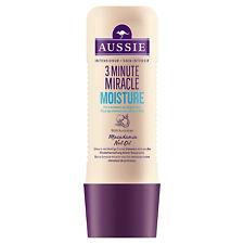 3x Aussie 3 Minute Miracle Moist Intensivkur Für trockenes Haar je 250ml Haarkur