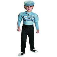 DISNEY CARS 2 TODDLER INFANT FINN MCMISSILE MUSCLE FANCY DRESS COSTUME OUTFIT