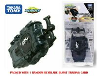 Takara Tomy Beyblade Burst GT B-141 Long Bey Left Spin Launcher Clear Black USA
