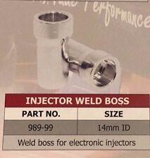Speedflow 14mm Fuel Injector Weld On Boss Manifold Bung Billet Aluminium 989-99
