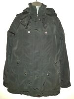 COLLECTION By JACKPOT Women's Black Hooded Jacket. Size Medium.