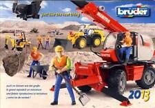BRUDER Prospekt Katalog 2013 NEU advertising brochure prospectus catalogue