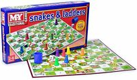 SNAKE AND LADDER Board Game Traditional Kids Family Fun Adult Toy Full Size Game