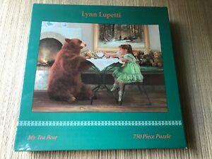 Artist Lynn Lupetti My Tea Bear 750 Piece Puzzle 2932-7 Ceaco 2001 New Sealed