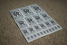 Rolls Royce Badge Racing Car Vehicle Decals Stickers