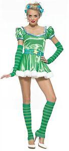 Leg Avenue Emerald Girl Costume 83414 Green Medium