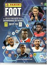 PANINI FOOT 2017-2018 : COMPLET AVEC l'ALBUM ET LES 570 STICKERS À COLLER
