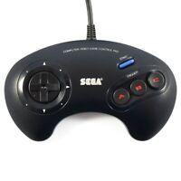 Genuine Sega Megadrive II 2 Controller 3 Button Gamepad Official REFURBED