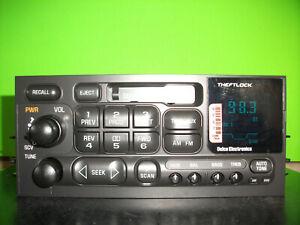 Chevy Silverado GMC Sierra factory cassette player radio stereo 95-02 15769257