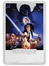 Niue 2 Dollar 2017 - Star Wars Posters Rückkehr der Jedi-Ritter - 1 Oz Silber PP