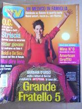 TV Sorrisi e Canzoni n°39 2004 Barbara D'Urso Boldi e De Sica   [D53]