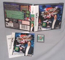 GAME NINTENDO DS Are You Smarter Than a 5th Grade? NDS lite dsi i dsixl xl 3DS