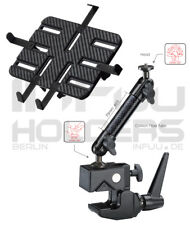 Carbon Mount Superclamp iPad Galaxy Tab Note Tablet Clamp Carbon