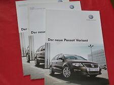 VW Passat Variant Trendline Comfortline Highline Prospekt + Preisliste von 2005