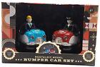 FAO Schwarz Nostalgic Bumper Car Set Remote Control Car Set Retro Multi Color