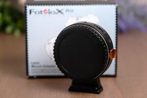 Fotodiox Pro FUSION Auto Focus Adapter Canon EOS EF/EF-S Lenses to MFT Camera