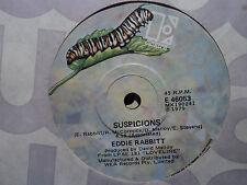 "Eddie Rabbitt ""Suspicions"" 1979 ELEKTRA Oz 7"" 45rpm"