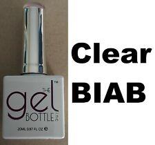 NEW The Gel Bottle Inc TGB Builder In A Bottle Clear BIAB Gel UV LED Polish 20ml