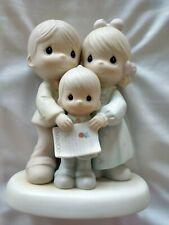 "1994 Precious Moments Figurine ""God Bless The Day We Found You"" - Boy Adoption"