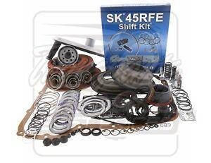 Fits Dodge 45RFE 545RFE Transmission Red Eagle PowerPack DLX 4WD L2 Rebuild Kit
