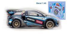 Decal 1:43 Citroen DS3RX Olivier Solberg rallycross 2017