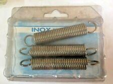 3 Molle di trazione 15x78 mm in acciaio inox molla ricambi occhiello