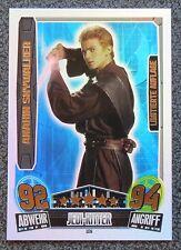 Star Wars Force Attax Movie Cards 3 LE6 Anakin Skywalker / Star Wars Karte limit