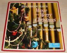 READER'S DIGEST THE ORGAN PLAYS MUSIC FOR A MERRY CHRISTMAS 4 LP BOXSET VG VINYL