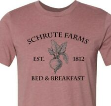 SCHRUTE FARMS beets shirt the office tshirt dwight t shirt funny saying mens tee