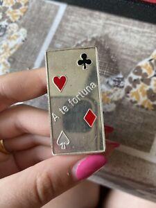LINGOTTO A TE FORTUNA CARTA POKER Fine Silver Peso: 50 gr ARGENTO 999