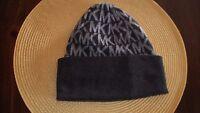 Michael Kors Hat Beanie Cap Dark Gray & Light Gray- MK's $88.
