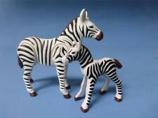 Playmobil Adult & Baby Zebra - Animal for  Zoo Safari African wildlife