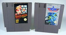 SUPER MARIO BROS. & TOP GUN 2 für Nintendo NES B-WARE Spiel Modul brothers 1