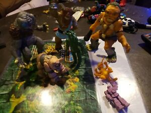 Vintage Action Figure Lot Dragonriders Of The Styx Dungeons & Dragons
