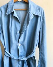 Chambray Work Wear Chore Jacket, Vintage Med/LG