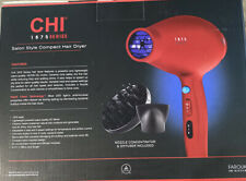 CHI Tech 1875 Series Limited Edition Hair Dryer Rapid RUBY RED Blow Dryer NEW