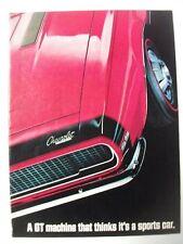 1967 CHEVROLET CAMARO SS 350 USA MAGAZINE 4 PAGE ADVERTISEMENT
