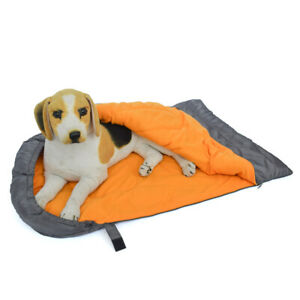 Outdoor Pet Dog Nest Puppy Waterproof Warm Cave Folding Travel Sleeping Bag Bed