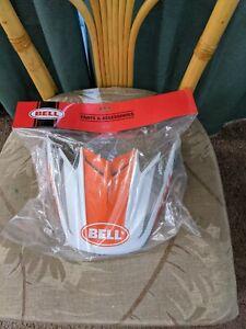 Bell PS Moto 9 Flex Visor White/Orange