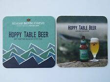 Beer Brewery Coaster >*< ALLAGASH Brewing Co Hoppy Belgian Table Beer ~<>~ MAINE