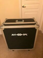 """Olympic Road Case Used 26""""x14""""x26"""" ; plus 5.5"""" caster height"""